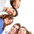 Stock Photo: Group of smiling