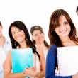 Group of university students — Stock Photo #11252286