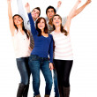 Excited group of — Stock Photo #11252306