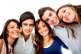 Feliz grupo de jovens — Foto Stock