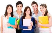 Group of students — Fotografia Stock