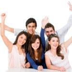 Group of celebrating — Stock Photo #11270663