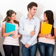 Group of university friends — Stock Photo #11270720