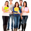 Happy group of students — Stock Photo #11270805