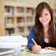 Female student — Stock Photo