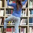 Woman looking for a book — Stock Photo #11271114