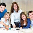 Group of university students — Stock Photo #11293827