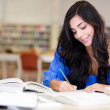 Female student studying — Stock Photo #11293843