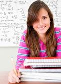 Studentessa — Foto Stock