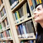Thoughtful female student — Stock Photo #11361357