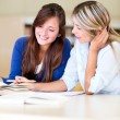 Women studying — Stock Photo #11361376
