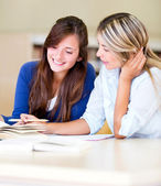 Women studying — Stock Photo
