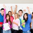 Happy group of students — Stock Photo #11375585