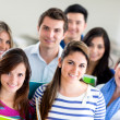 Group of students — Stock Photo #11375588