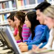 Students using computers — Stock Photo