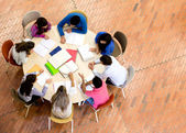 Grupo de estudo — Foto Stock