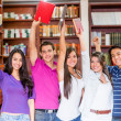 Happy group of students — Stock Photo #11399626