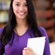 Stock Photo: Female student