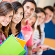 Group of students — Stock Photo #11399764