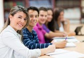 Studenti in classe — Foto Stock