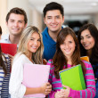 Happy students — Stockfoto #11400061