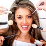 Woman at the beauty salon — Stock Photo