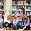 Royalty-Free Stock Photo: Happy group of students