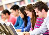 Het studenten — Stockfoto