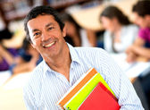 Older male student — Stock Photo