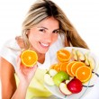 Healthy eating woman - Photo