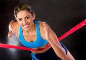 Galibi atlet — Stok fotoğraf