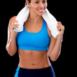 Athletic woman — Stock Photo