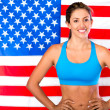 Stock Photo: USathlete