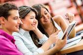 Jongeren studeren — Stockfoto