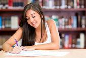 Woman studying — Stock Photo