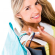 Shopping woman — Stock Photo #11593445