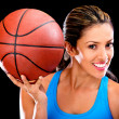 Basketball player — Stock Photo #11593477