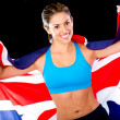 Stock Photo: British athlete