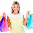 Happy shopping woman — Stock Photo #11624952