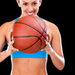 Female basketball player — Stock Photo #11624967