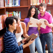 Students at the library — Stock Photo #11677449