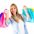Female shopper - Stock Photo