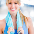 Woman at the gym — Stock Photo #11747864