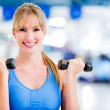 Womat gym — Stock Photo #11848481