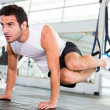Strong man at the gym — Stock Photo #11848693