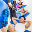 At the gym — Stock Photo #11854091