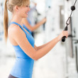 Gym woman — Stock Photo #11854182