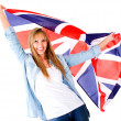 Stock Photo: British woman