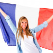 Stock Photo: French woman