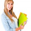 Female student — Stock Photo #11991566